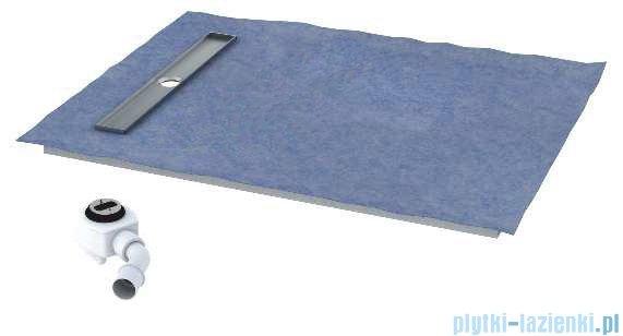 Schedpol brodzik posadzkowy podpłytkowy ruszt Stamp 120x70x5cm 10.005/OLKB/SP
