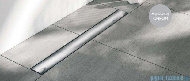 Schedpol odpływ liniowy ruszt chrom połysk 90x8x9,5cm OLCH90/ST
