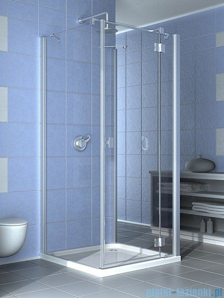 Radaway Essenza KDJ+S kabina 80x120x80 prawa szkło przejrzyste + Brodzik Doros D + syfon 32932-01-01R1 / 32932-01-01R2