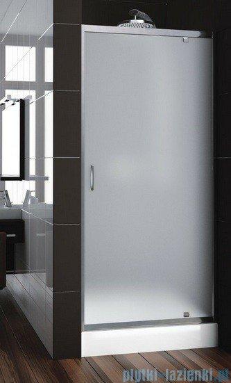 Aquaform Nigra drzwi prysznicowe 80x185cm chrom szkło satinato 103-091112P