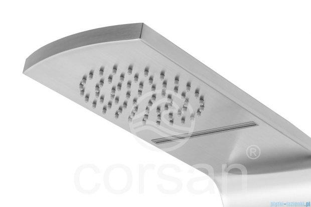 Corsan Roda panel prysznicowy stalowy z mieszaczem S-039
