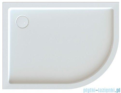 Sanplast Free Line brodziki asymetryczny BP-L/FREE 80x120x5+STB lewa 615-040-1780-01-000