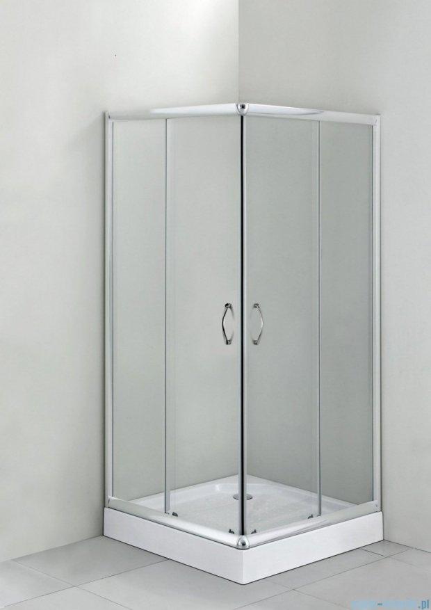 Deante Funkia kabina kwadratowa 90x90x185 cm przejrzyste KYC 041K