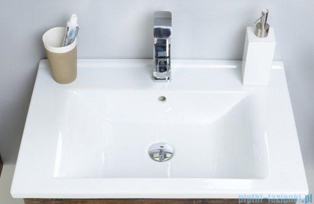 Antado Spektra ceramic szafka z umywalką 2 szuflady 72x43x50 szary połysk wolfram grey FDF-AT-442/75/2GT-56+UCS-AT-75