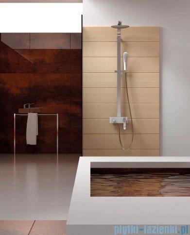 Art Platino Emira Zestaw prysznicowy chrom/biały EMI-ZKPN. 400BC