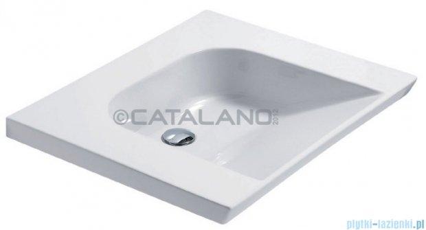 Catalano Verso Comfort 70 umywalka podwieszana 70x60 biała 1LAHN00