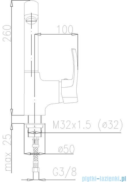 KFA Kwarc bateria zlewozmywakowa, kolor chrom 4203-915-00