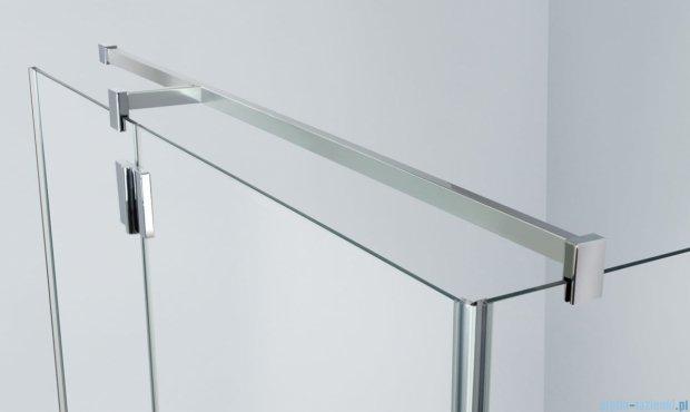 Sanplast kabina narożna prostokątna lewa przejrzysta  KNDJ2L/AVIV-100x120 100x120x203 cm 600-084-0330-42-401