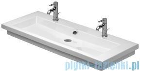 Duravit 2nd floor umywalka stawiana z dwoma otworami na baterie 1200x505 049112 00 26