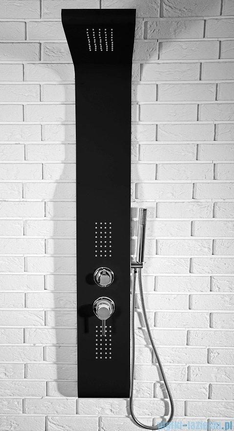Rea panel natryskowy z mieszaczem czarny 9505Czarny