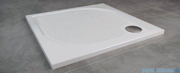 SanSwiss WMQ Marblemate Brodzik konglomeratowy 100x100cm czarny granit WMQ1000154