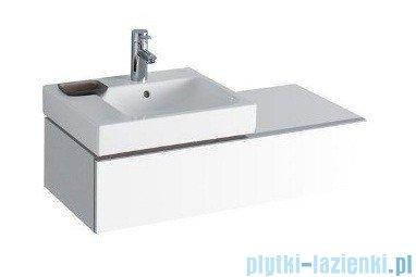 Keramag Icon Szafka wisząca podumywalkowa 89cm lewa biały połysk 840490