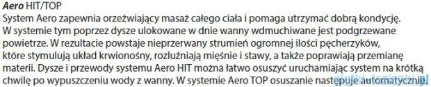 Riho Dorado Wanna asymetryczna 170x75 prawa z hydromasażem HIT Aero12 BA80H1