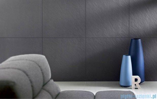 Paradyż Doblo nero struktura płytka podłogowa 59,8x59,8