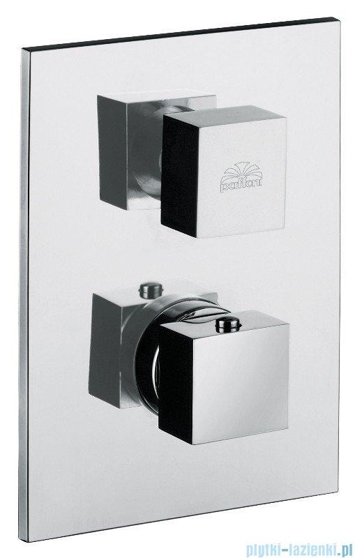 Paffoni Bateria natryskowa podtynkowa termostatyczna Level Termostaty chrom LEQ510CR