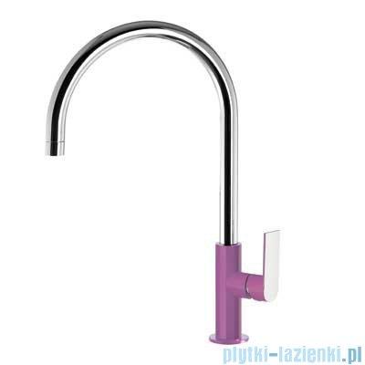 Tres Loft Colors Bateria umywalkowa z korkiem automatycznym kolor fioletowy 200.205.06.VI.D