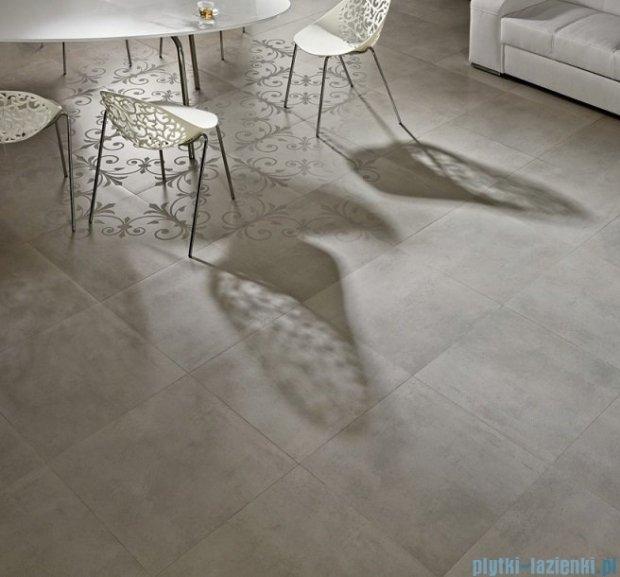 Pilch Cemento biały cokół 7,5x59,6