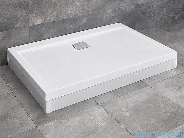 Radaway Obudowa do brodzika prostokątnego Argos D 140 aluminium biała 001-510134004