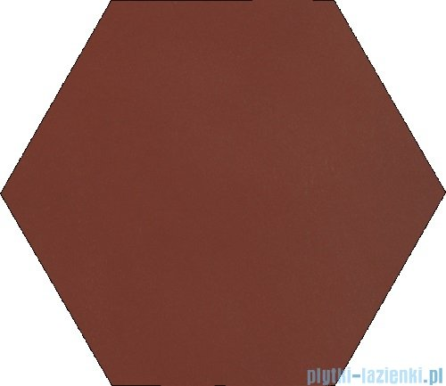 Paradyż Natural rosa klinkier heksagon 26x26