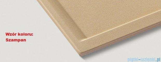 Blanco Mevit XL 6 S Zlewozmywak Silgranit PuraDur kolor: szampan  bez kor. aut. 518359