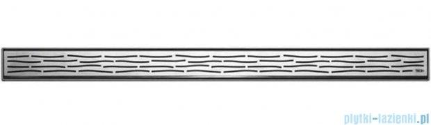 Tece Ruszt prosty Organic ze stali nierdzewnej Tecedrainline 120 cm połysk 6.012.60