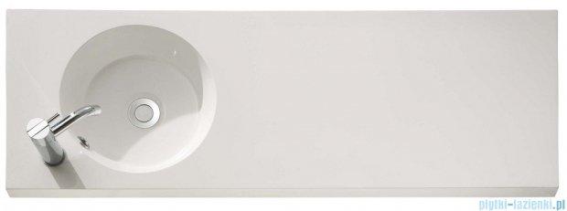 Bathco umywalka blatowa dolomitowa Oasis 100x35 cm 0521