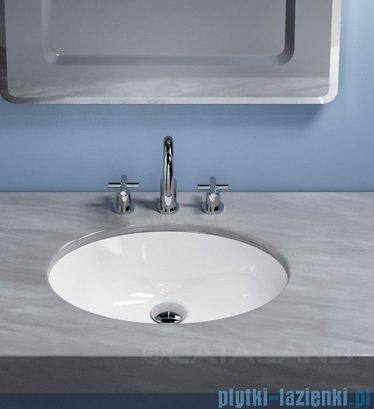 Catalano Sottopiano 57 umywalka podblatowa 57x42 cm biała 1SONN00
