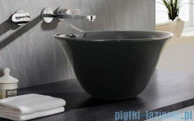 Bathco Nordic Black umywalka 42x42cm nablatowa 4062/NE