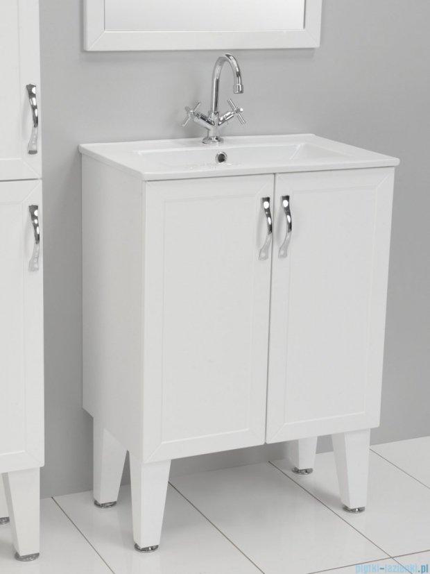 Antado Rustic szafka podumywalkowa z drzwiczkami i umywalką 80x39cm RST-141/8-14 + UCE-80