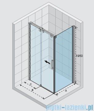 Riho Ocean ścianka boczna prawa 100x195cm GU0304102