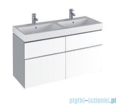 Keramag Icon Szafka wisząca pod umywalkowa 119cm biały połysk 840520