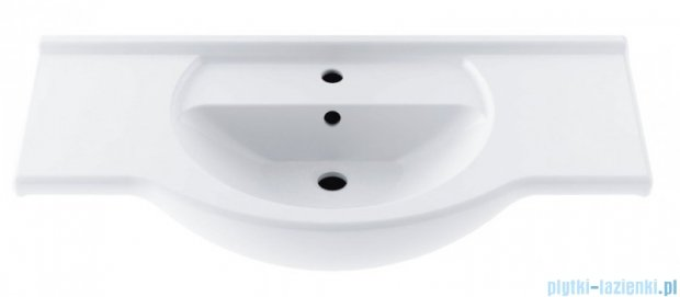Aquaform umywalka 105cm biała 0448-460000