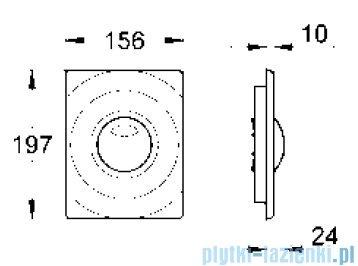 Grohe Surf przycisk uruchamiający chrom 42302000
