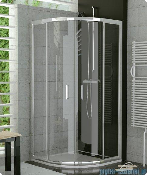 SanSwiss Top-Line TOPR Kabina prysznicowa półokrągła 90cm profil połysk TOPR550905007