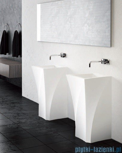Marmorin umywalka stojąca Erato z otworem biała 370050020011