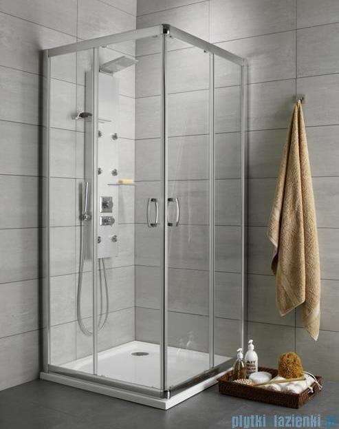 Radaway Premium Plus C Kabina kwadratowa 90x90 szkło fabric 30453-01-06N