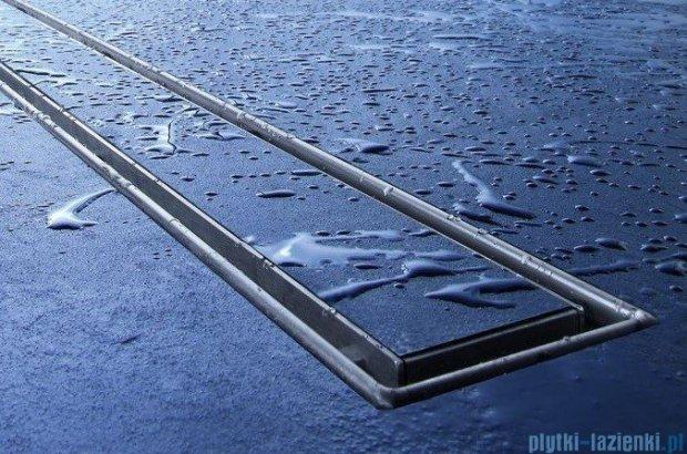 Tece Ruszt prosty Plate ze stali nierdzewnej Tecedrainline do wypełnienia płytkami 70 cm połysk 6.007.70