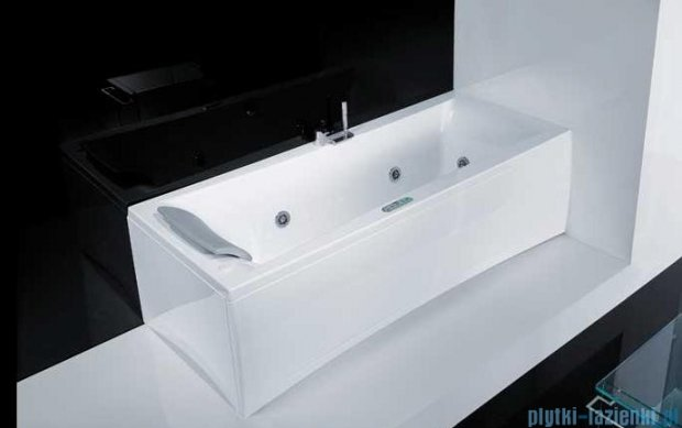 Novellini Elysium Wanna Y 190x80 z hydromasażem wodnym PRAWA Y519080RD2-A3K
