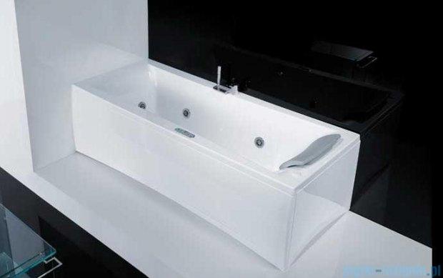 """Novellini Elysium """"Y"""" Wanna 180x80cm z hydromasażem wodnym Lewa Y518080RS0-A2K"""