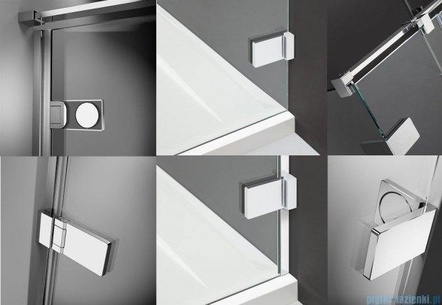 Radaway Arta Kds I kabina 120x80cm lewa szkło przejrzyste 386820-03-01L/386100-03-01L/386110-03-01