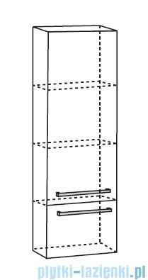 Antado Spektra Słupek wiszący wysoki 40x32x143 dąb Samba FDF-492GT-62