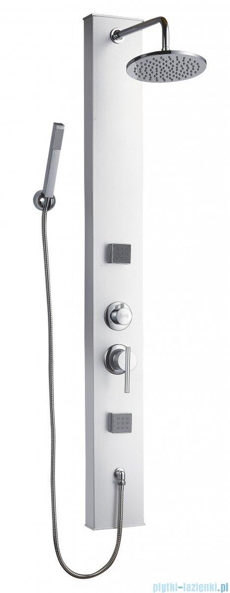Deante Neo Soft panel natryskowy aluminium NRO 351K