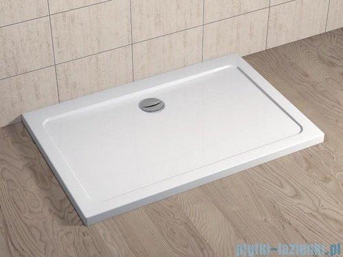 Radaway Kabina prysznicowa Essenza KDD 100x80 szkło przejrzyste + brodzik Doros D + syfon 32873-01-01NL