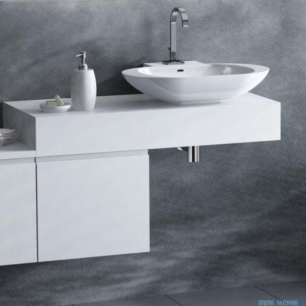 Antado Combi szafka prawa z blatem prawym i umywalką Mia biały ALT-141/45-R-WS+ALT-B/1R-1000x450x150-WS+UCS-TC-60