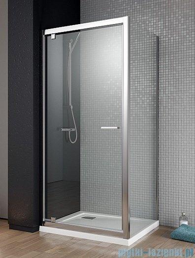 Radaway Twist DW+S Kabina prysznicowa 100x90 szkło przejrzyste + brodzik Argos D + syfon 382003-01/382012-01/4AD910-01