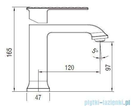 Art Platino Panama bateria umywalkowa chrom PAN-BUN.010C