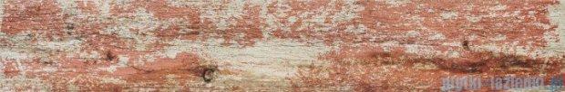 Tubądzin Shabby Chic red płytka gresowa 89,8x14,8