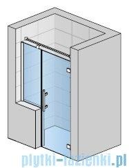 SanSwiss Pur PU31P Drzwi prawe wymiary specjalne do 200cm pas satynowy PU31PDSM41051