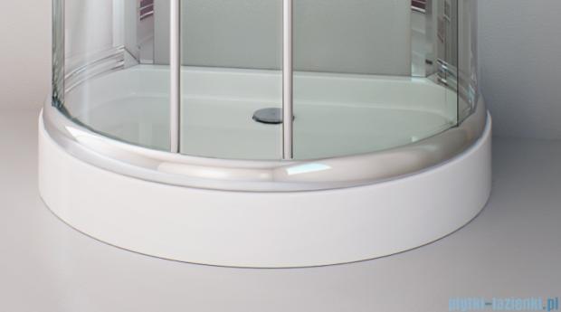 Sea Horse Sigma kabina 100x80 przejrzyste BK002/1/X + Brodzik prysznicowy 100 x 80 cm  BKB022/X