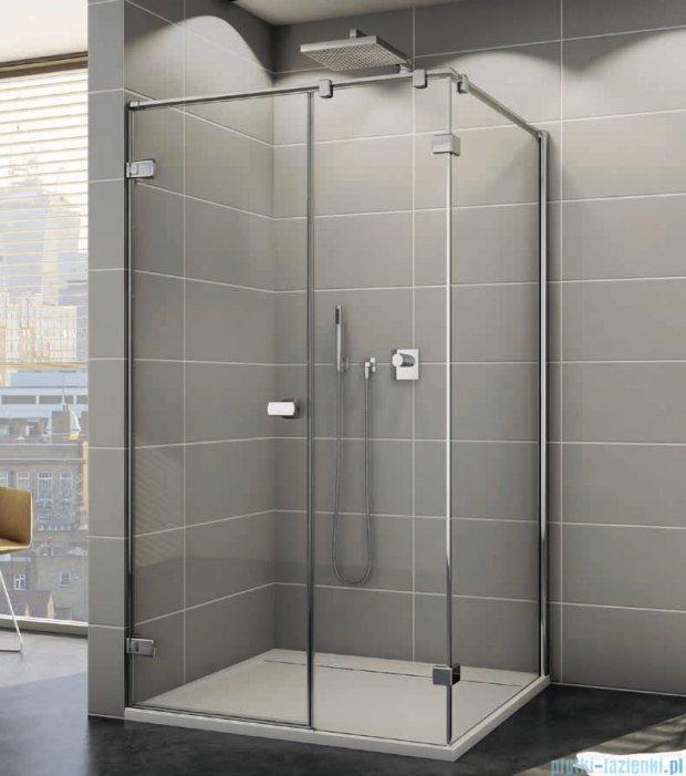 Sanswiss Melia ME31P Kabina prysznicowa lewa 100x100cm przejrzyste ME31PG1001007/MET3PD1001007